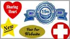 anniversary labels, anniversary stickers, star labels, star stickers